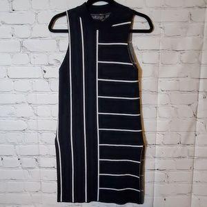 Topshop Sleeveless Mod Sweater Dress
